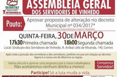 Assembleia Geral 30 de Março- Veja a chamada